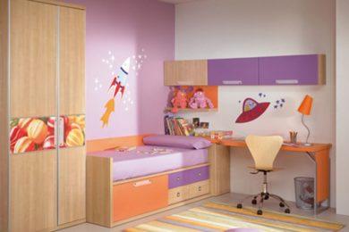 Ремонт детской комнаты в Голубое