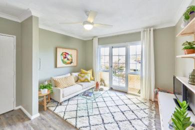 Ремонт двухкомнатной квартиры в Голубое