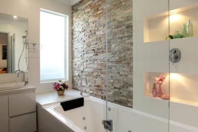 Ремонт ванной комнаты в Голубое